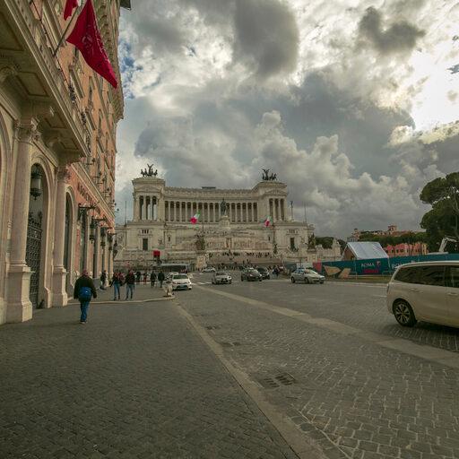 Площадь Венеции, Колизей и Форум ч.6