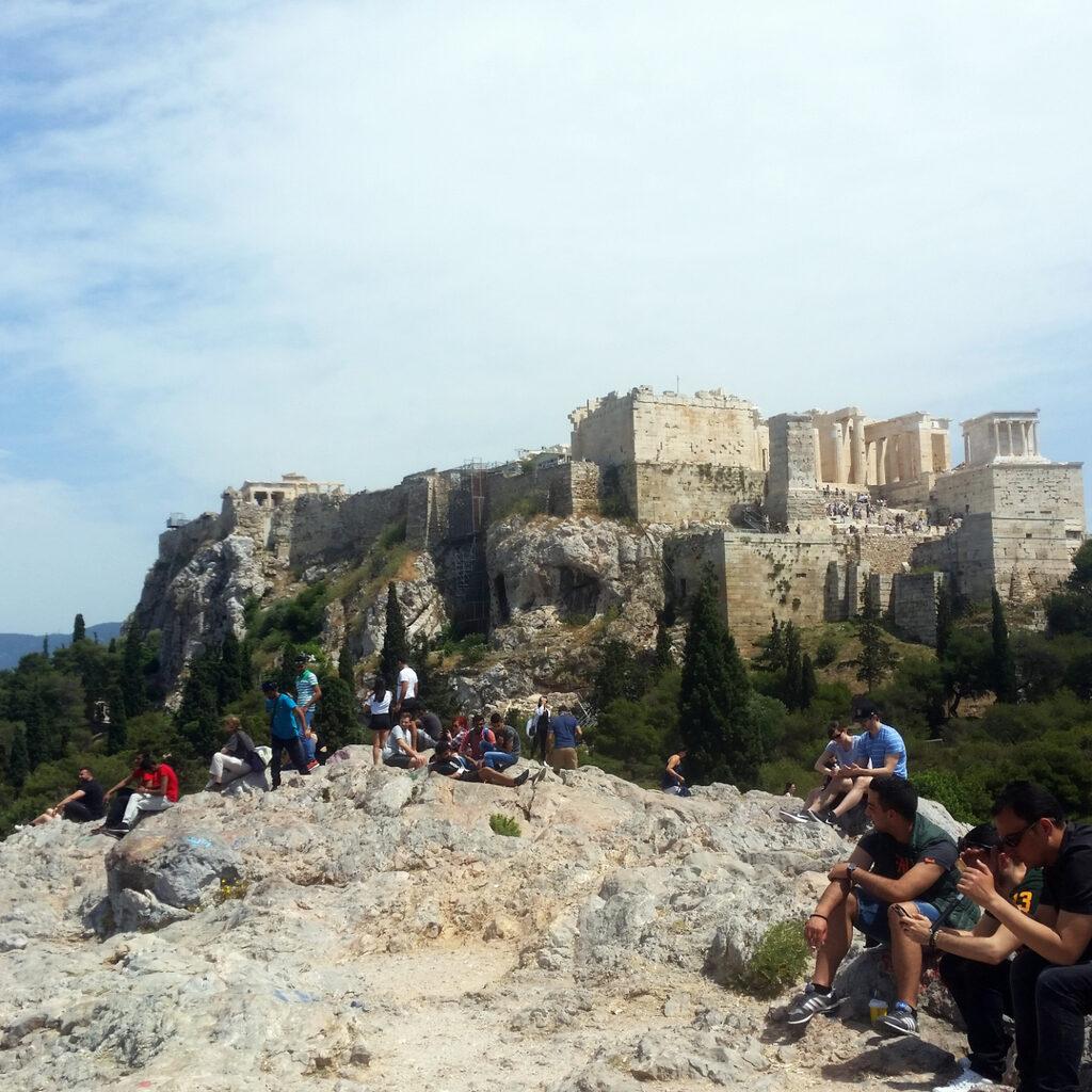 Последние часы в Греции. Афины.