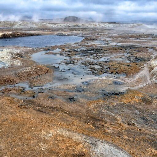 Лавовый комплекс и Геотермальная зона