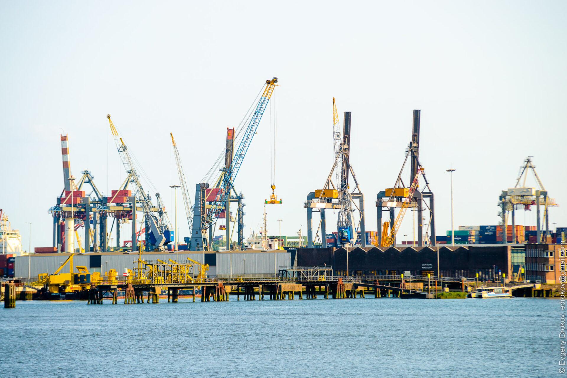 Порт Роттердама