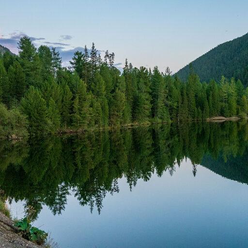 Алтай. Озеро Чейбеккель (Мертвое озеро)