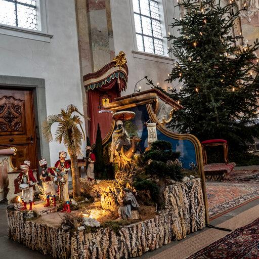 Рождество в городе Триберг (Германия, Баден-Вюртенберг).