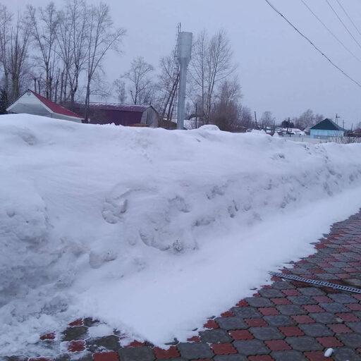 Весь снег лежит в двух часах езды от Красноярска!