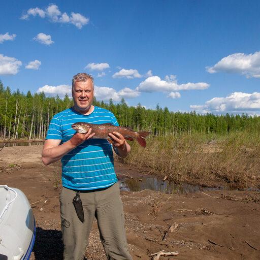 Рыбалка в Хабаровском Крае. Часть 5. Первые рыбки