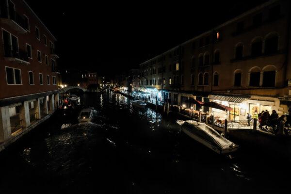 Ночная Венеция в«прошлой» жизни.