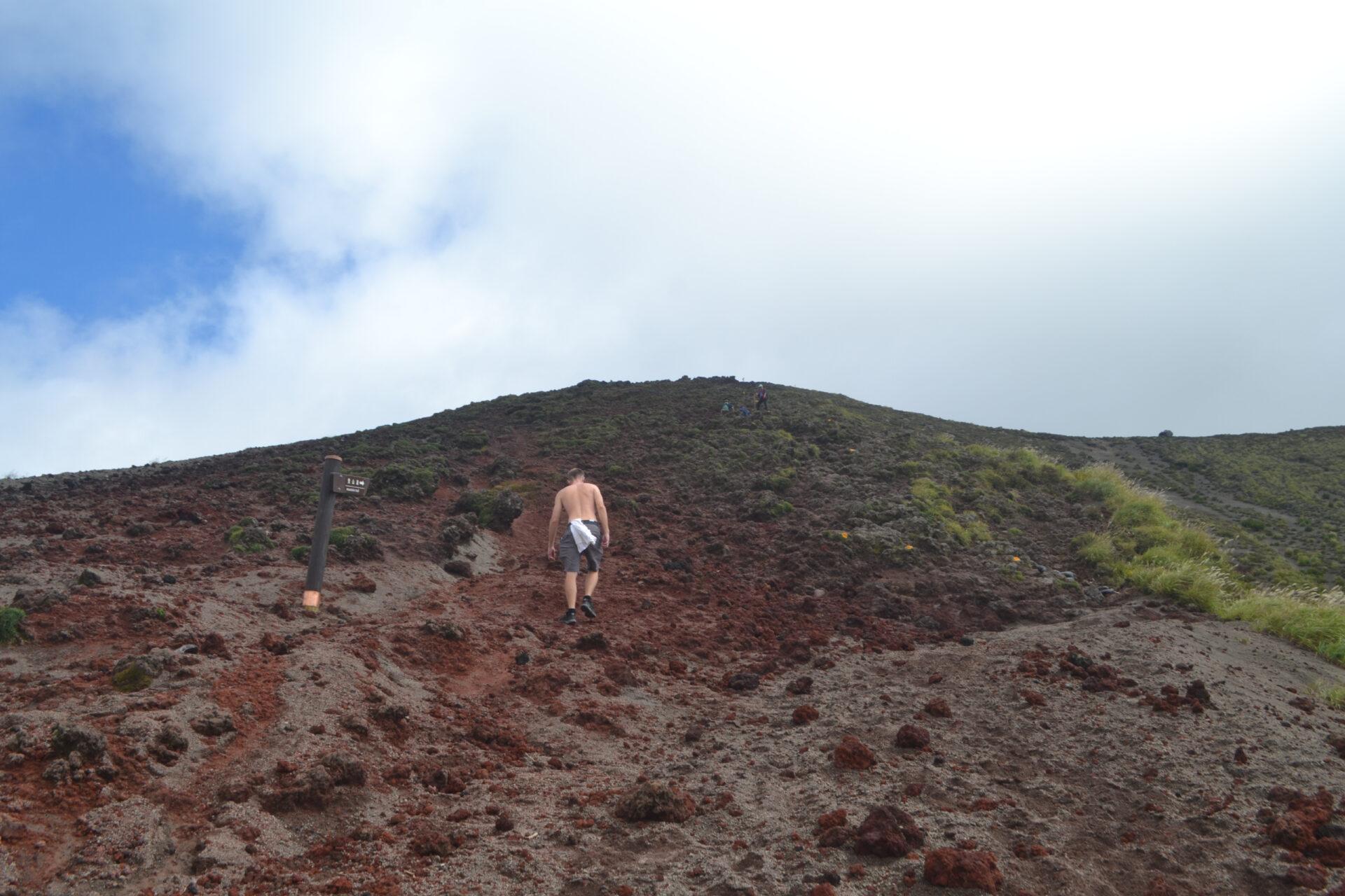 Вулкано-hiking впрефектуре Миядзаки