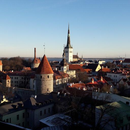 Зимний Таллин. Часть 1.
