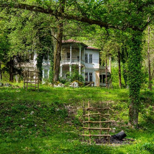 Абхазия. Чернореченское форелевое хозяйство (Гудаутский район)