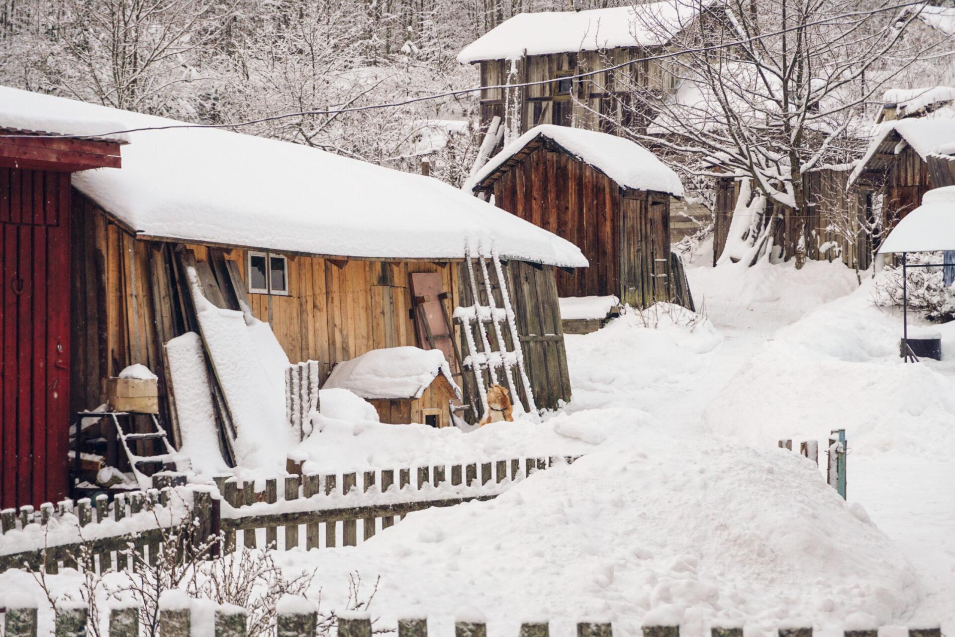 Зимние каникулы вКарелии (Лахденпохья)