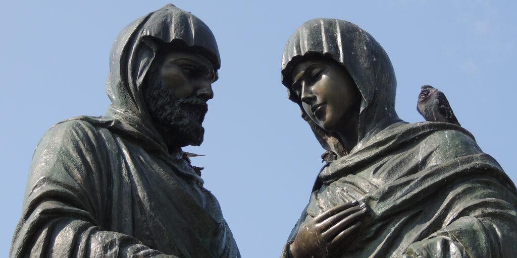 Памятники и скульптуры Красноярска. Часть 5 (кажется, последняя, но это не точно)