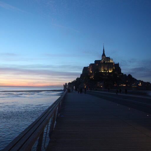 Евротрип: к замкам долины Луары. Часть 2: Париж, Мон-Сен-Мишель, Нант.